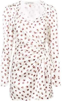 ATTICO Front Floral Dress