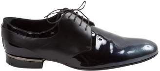 Louis Vuitton Anthracite Patent leather Lace ups