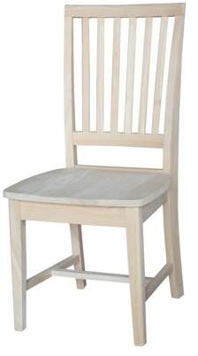 INC International Concepts International Concepts Mission Side Chair, Set of 2, Unfinished