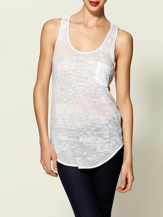 Hive & Honey Burnout Pocket Tank