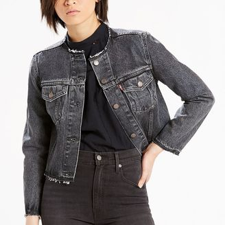 Women's Levi's® Raw-Edge Denim Jacket $64.50 thestylecure.com