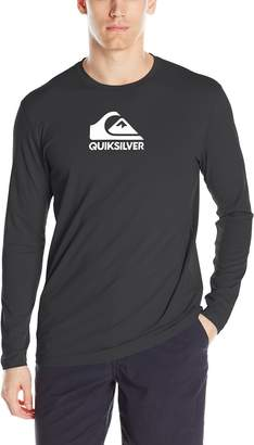 Quiksilver Men's Solid Streak Long Sleeve Rashguard