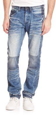 Demon Slim Straight Jeans $325 thestylecure.com
