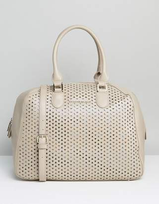 Silvian Heach Perforated Handheld Bag