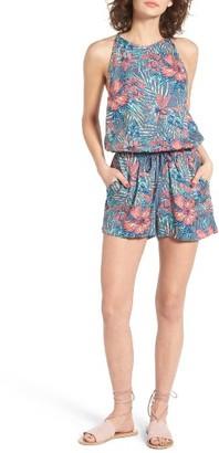 Women's Roxy Hooked On A Feeling Print Romper $49.50 thestylecure.com
