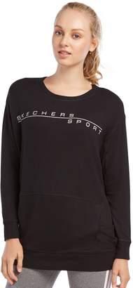 Skechers Women's Better Than Basic Crewneck Fleece Top