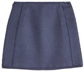 Paule Ka Cotton Mini Skirt