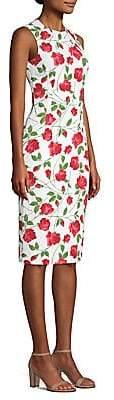 Michael Kors Women's Rose Print Sheath