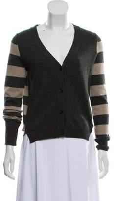 360 Cashmere Striped Cashmere Sweater green Striped Cashmere Sweater