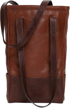 "Moore & Giles Leather Bottle Tote Bag ""Petty"""