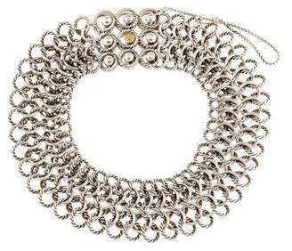 David Yurman Atlas Chain Mail Choker