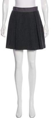 Nili Lotan Wool Mini Skirt