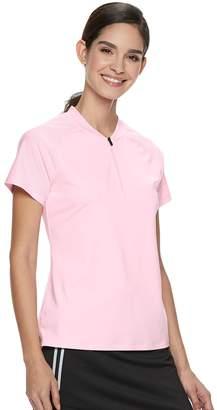 Fila Sport Women's SPORT Zip Neck Golf Tee