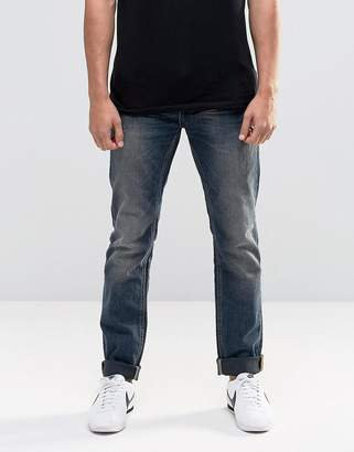 Blend of America Twister Slim Jeans Mid Vintage Blue