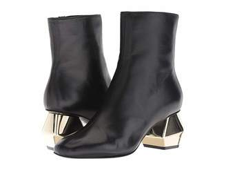 Emporio Armani Side Zip Ankle Boot