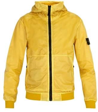 Stone Island Lightweight Jacket - Mens - Yellow