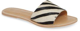 Coconuts by Matisse Cabana Genuine Calf Hair Slide Sandal