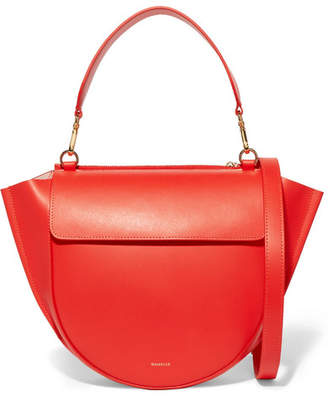 Hortensia Wandler Medium Leather Shoulder Bag - Red