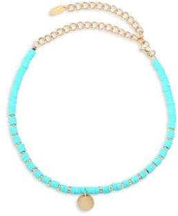 Ettika Beaded Disc Choker