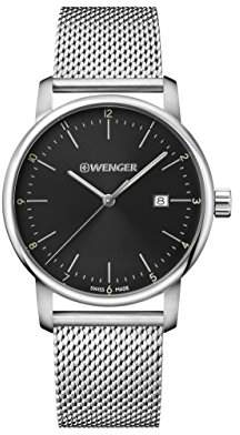 Wenger Men's 'Urban Classic' Quartz Stainless Steel Casual Watch