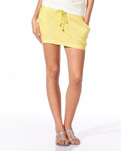 Linen Logo Mini Skirt