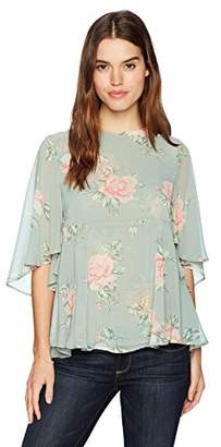 Show Me Your Mumu Women's Ingrid Floral Top