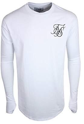 d3e8067d584 at Amazon.co.uk · SikSilk Men's Long Sleeve Tee T-Shirt,X-Small