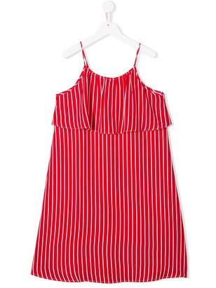 Tommy Hilfiger Junior striped flared dress