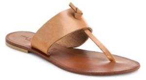 Joie Nice Leather Thong Sandals $125 thestylecure.com