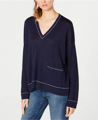 Eileen Fisher Relaxed V-Neck Sweater
