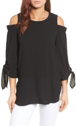 Women's Gibson Cold Shoulder Top $59 thestylecure.com