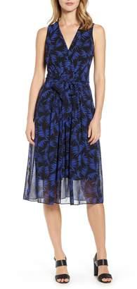 Anne Klein Delphine Print Midi Dress