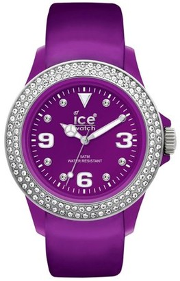 Ice Watch Ice-Watch Stone Tycoon Swarovski Purple Polyamide Unisex Watch ST.PS.U.L.10