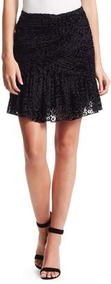 A.L.C. Corey Leopard Print Mini Skirt