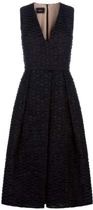 Akris Cotton Organza Midi Dress