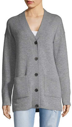 Theory Buttoned Cashmere Cardigan