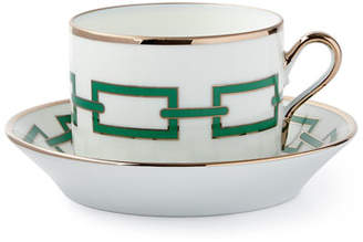 Richard Ginori 1735 Cantene Green Teacup