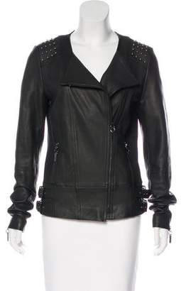 Thomas Wylde Embellished Leather Jacket w/ Tags