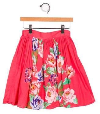 Derhy Kids Girls' Printed A- Line Skirt