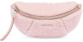 Miu Miu Shearling belt bag