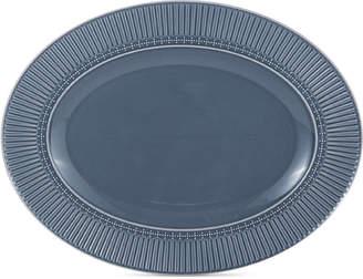 Mikasa Italian Countryside Blue Oval Platter