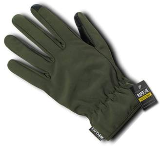 RAPDOM Tactical Soft Shell Winter Gloves, Olive Drab, M