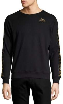 Kappa Raglan-Sleeve Graphic Sweater