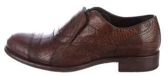 Dolce & Gabbana Ostrich Leg Oxfords w/ Tags