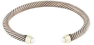 David Yurman Pearl Cable Classics Cuff