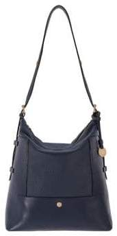 Lodis In the Mix Emmerson Under Lock and Key Leather Convertible Hobo Bag