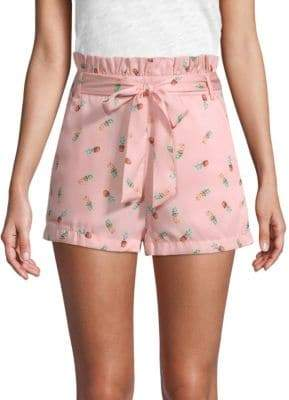 ENGLISH FACTORY Pineapple Daze Printed Shorts