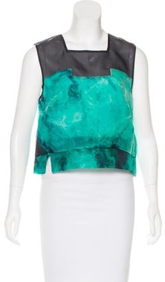 Whistles Silk Printed Top w/ Tags $65 thestylecure.com