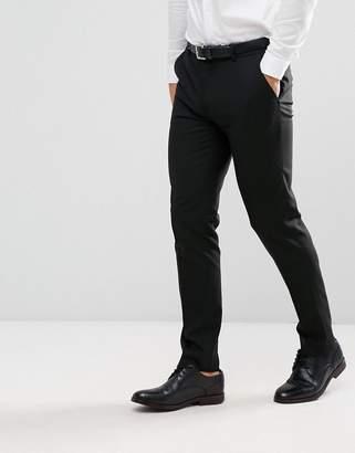 Asos Design DESIGN skinny suit pants in black