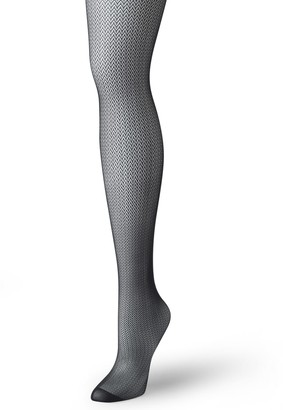 Hanes Women's Curves Micro Herringbone Tight